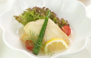 白身魚の黒酢あんかけ1620円